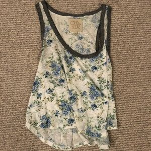 chaser floral tank
